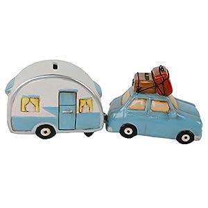 41LS%2B4UidNL. SS300 Roomando 2er-Set Spardose Urlaub Auto mit Wohnwagen