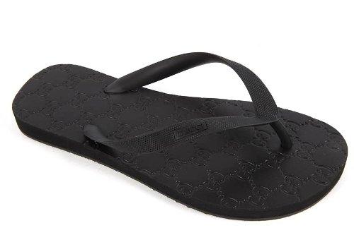 Gucci infradito uomo in gomma originale nero  Amazon.it  Scarpe e borse c11ba22ac107