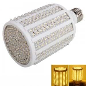 E27 18W 330 LED 1600 Lumen 3000-4000K Warm White LED Corn Light Bulb (220V)