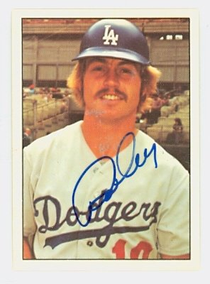 Ron Cey AUTOGRAPH 1975 SSPC Los Angeles Dodgers