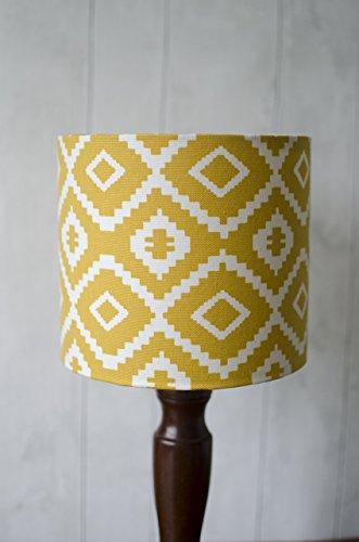(Aztec Saffron Yellow Lampshade)