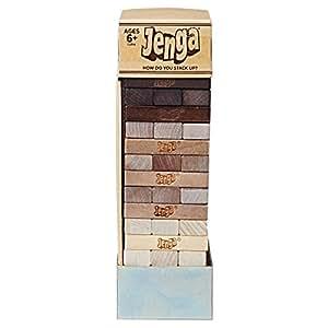 Hasbro Current Edition Hasbro Jenga Rustic Board Game
