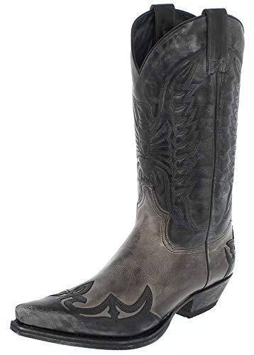 Grigio boots Negro 13170 bottes Sendra westernstiefel CnBwq6461