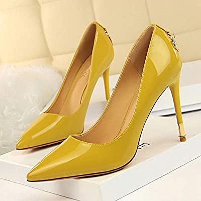e76047b7576 TWOMDE Bigtree Shoes Women Pumps Patent Leather Women Shoes Spring ...