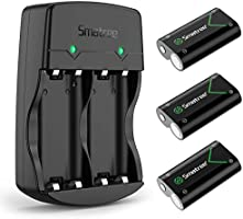 Smatree Rechargeable Battery Compatible with Xbox Series X|S/Xbox One/Xbox One S/Xbox One X/Xbox One Elite Wireless...