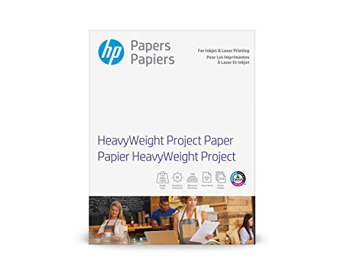 HP Heavyweight Project Paper | Matte Inkjet & Laser | 8.5x11 | 250 Sheets