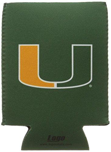 Miami Florida Hurricanes - NCAA Miami Hurricanes Flat Drink Coozie