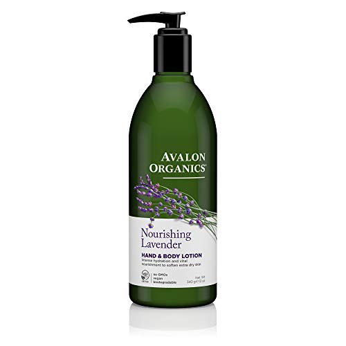 - Avalon Organics Nourishing Lavender Hand & Body Lotion, 12 oz. (Pack of 2)