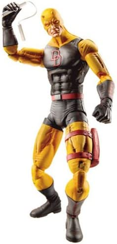 Marvel Legends Daredevil 6-Inch Action Figure Red//Yellow