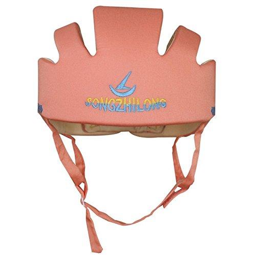 TMERY Adjustable Baby Helmet Safety Baby Head Protector Toddler Helmet (Orange)
