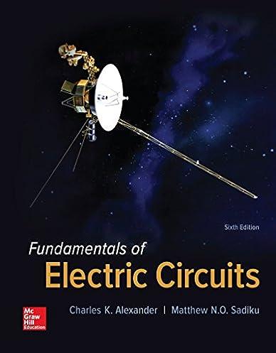 fundamentals of electric circuits charles k alexander matthew rh amazon com fundamental of electric circuit manual solution fundamental of electric circuits 3rd edition solutions manual