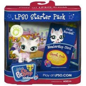 Hasbro Littlest Pet Shop Online LPSO Starter Pack Felina Murchent Figure [Cat] (Littlest Pet Shop Starter Pack)