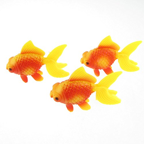 Yellow Gold Tropical Fish - 7