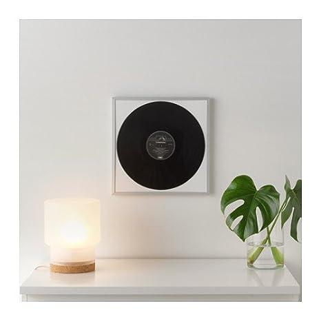 IKEA lomviken álbum de LP Record para marco de fotos para pared música pantalla aaluminum: Amazon.es: Hogar