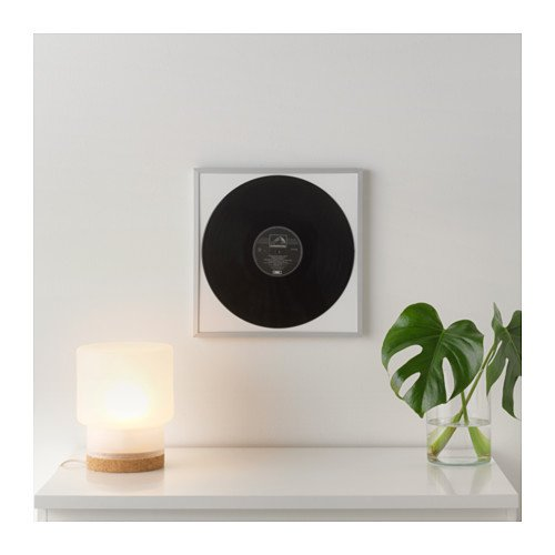 Ikea LOMVIKEN LP Album Record Cover Wall Frame Music Display Aaluminum