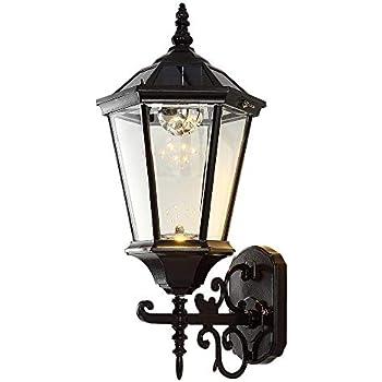 Amazon.com: Solar Wall Lantern Outdoor, Wireless Dusk to