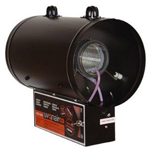 Uvonair 8 Inch CD-In-Line Duct Ozonator Corona Discharge