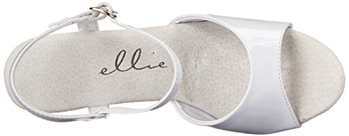 Shoes Piattaforma 601 Donna Sandalo Giulietta Bianca Ellie Zwx6Avdq6T