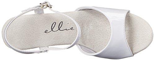 White Women's Sandal Juliet Ellie Shoes Platform 601 BqwnYpZ