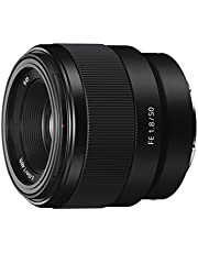 Sony SEL-50F18F Standard Objektiv (Festbrennweite, 50 mm, F1.8, Vollformat, geeignet für A7, A6000, A5100, A5000 und Nex Serien, E-Mount) schwarz