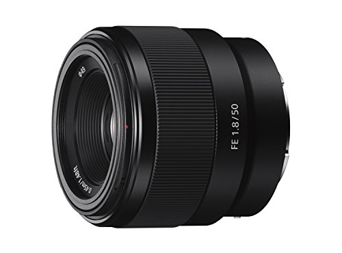 Sony - FE 50mm F1.8 Standard Lens (SEL50F18F) (Best Budget Full Frame Mirrorless Camera)
