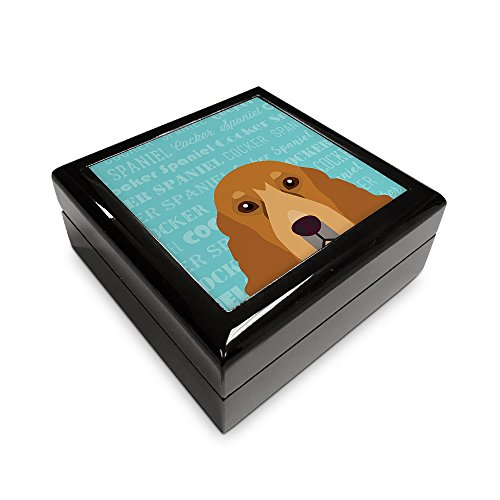 (Mystic Sloth Adorable Dog Breed Specific Memory Box (Cocker Spaniel))