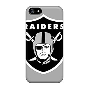 Elaney Case Cover For Iphone 5/5s - Retailer Packaging Oakland Raiders Protective Case