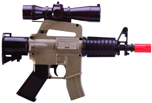 U.S. Marine Corps Airsoft Mini Electric Full-Auto Gun (Style Machine Gun)