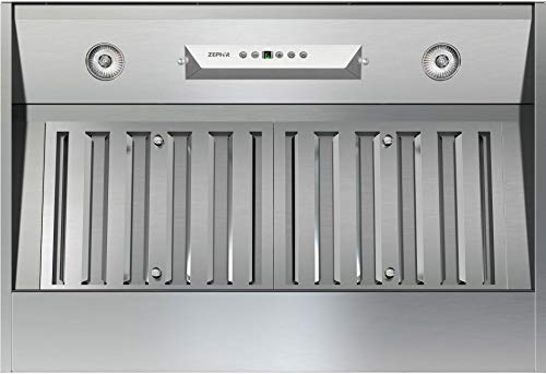 Liner 600 Cfm Stainless Steel - Zephyr AK9228AS Cabinet Insert One-Piece Liner, Stainless Steel