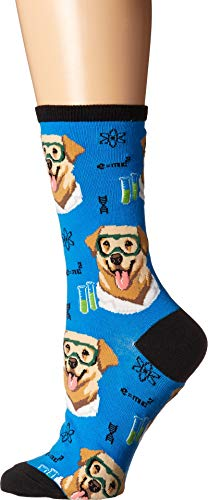 Socksmith Women's Science Lab Blue One ()