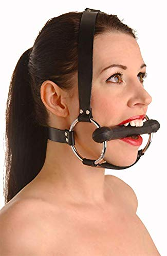 Strict Leather Locking Silicone Trainer Gag by Strict Leather