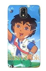 Brand New Note 3 Defender Case For Galaxy (dulcero Go Diego Go Nick Jr Fiesta Recuerdo Bolo Ofertopia El)