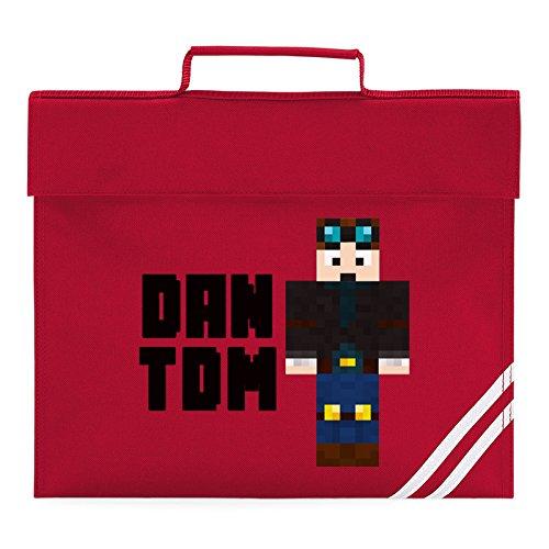 Bag Dan Book Classic Dantdm Skin Standing Diamond 2D The Red Minecart Player zKvyqpd