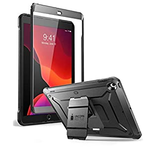 SUPCASE Unicorn Beetle Pro Series Case for iPad 10.2 (2020/2019), with Built-in Screen Protector Protective Case for iPad 8th Generation 2020/iPad 7th Generation 2019(Black)