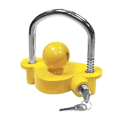 Pokin Universal Trailer Hitch Coupler Lock Ball Heavy Duty Steel 1 7/8'' 2'' 2 5/16'' by Pokin