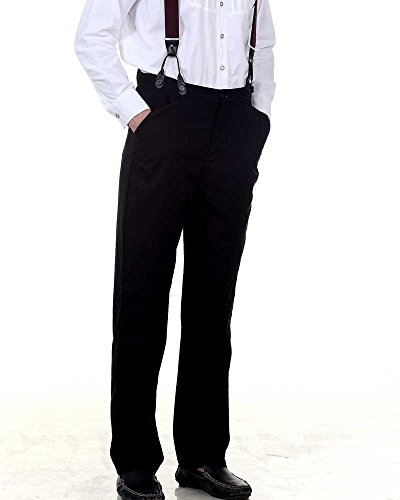 [Steampunk Victorian Costume Classic Victorian Men's Trouser (large)] (Steampunk Costumes Men)