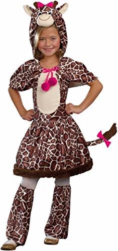 Gigi Giraffe Kids Costume deluxe - SMALL (Gigi Giraffe Girls Costume)