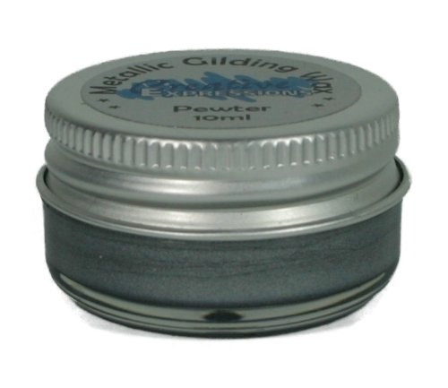 Cosmic Shimmer Gilding Wax, Pewter Creative Expressions CSGWPEW