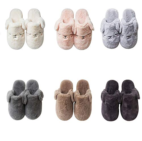 And 42house nbsp; Warm onautumn Comfortable Christmas Shoes Wall Women's Brown Men's Night Winter amp; Dark Shoes Slip Indoor Outdoor Antlers Cotton Slippersfur qwn4SUCAx