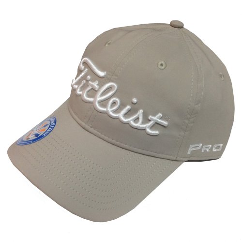 New 2014 Titleist Tour Performance Hat/Cap COLOR: Khaki SIZE: ADJUSTABLE