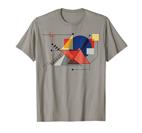 T-shirts Fine Design (Bauhaus Movement, 1919 Walter Gropius, Artwork Reproduction)