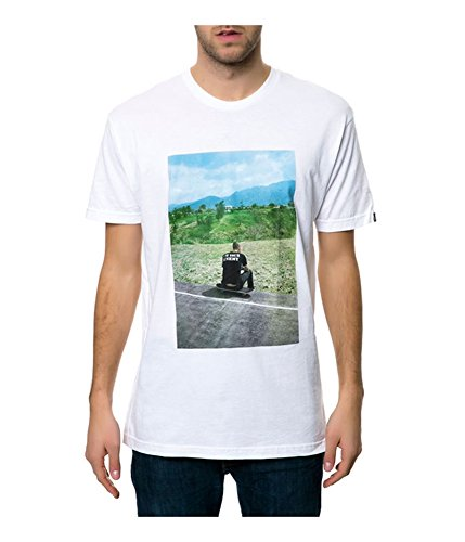 Emerica Men's HSU Made Brovost Photo Tee Medium White (Made Emerica)