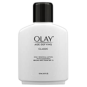 Olay Age Defying Classic Daily Renewal Lotion with SPF 15, 4. fl oz Packaging may Vary
