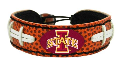 - NCAA Iowa State Cyclones Primary Athletic Mark Logo Classic Football Bracelet
