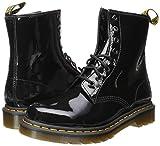 Dr. Martens Women's 1460 W Combat Boot, Black