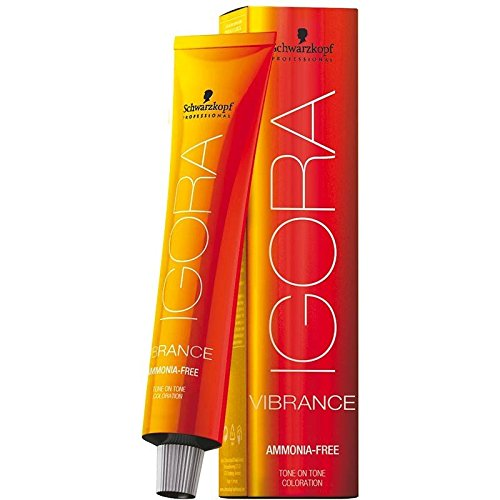 Schwarzkopf Igora Vibrance Tone & Tone Hair Color 6-66 (Dark Blonde Chocolate Extra)
