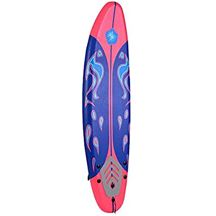 amazon com giantex 6 surfboard surf foamie boards surfing beach