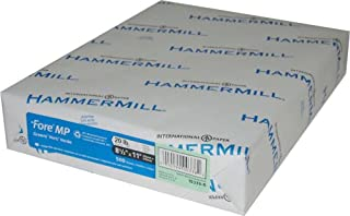 "product image for Hammermill Fore MP Recycled Colored Paper, 8.5x14"", 500 Sheets/Ream, Goldenrod"