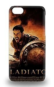 For Iphone 5c 3D PC Case Protective 3D PC Case For Dreamworks Gladiator Action War Romance 3D PC Case