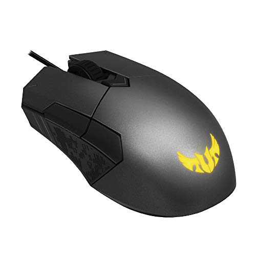 ASUS Optical RGB Gaming Mouse – P304 TUF M5 | Ambidextrous, Ergonomic, Lightweight | Wired Gaming Mouse for PC | 6200…